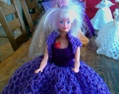 New Handmade  VICTORIAN STYLE BALLGOWN clothes for Barbie Dolls designed and made by nannycheryl  912 x 00