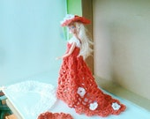 New Handmade  BARBIE DOLL CLOTHES  Evening wear designed and made by nannycheryl  843 x 14