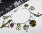 Hunger Games Charms Bracelet
