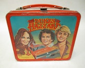 DUKES  OF  HAZARDS  Lunchbox circa 1980