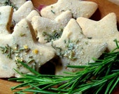 meyer lemon rosemary shortbread - kitchenfare