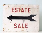 Vintage Estate Sale Sign - bellalulu