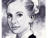 Original Downton Abbey Sketch Card of Anna Bates ACEO - chrismeeks1