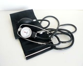 vintage DOCTORS blood pressure cuff and stethoscope - artyfactz