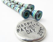 Fathers Day Gift - golf ball marker and golf tees - WyomingCreative