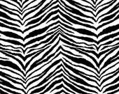 Black and White Zebra Animal Print Table Runner  For Weddings, Parties and home decor Customizable - reneeorr