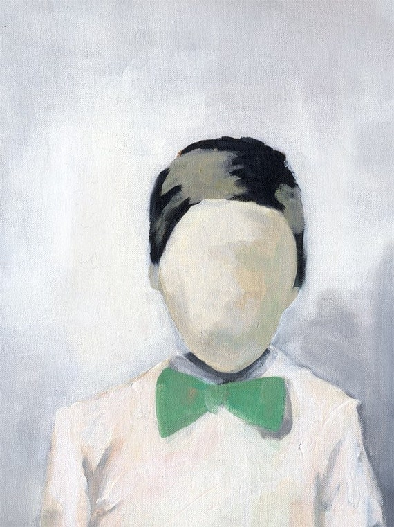 The Boy in the Green Bow Tie