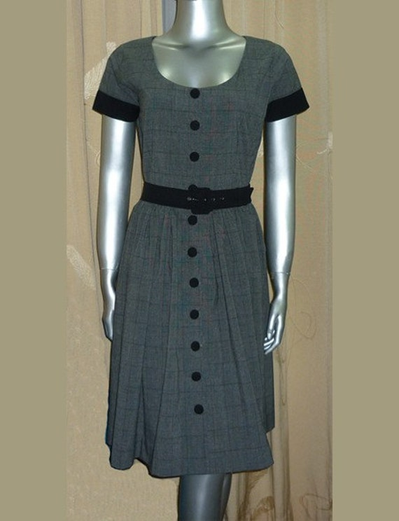 vintage look darling dress custom made all sizes
