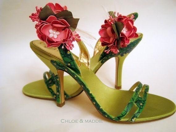 20abe7d45056 Аххх... какая летняя красота.. эти цветы сможно сделать на клипсах и  переставлять по своему желанию... Оживят любую обувь-тут дело вашего вкуса)  Лично я в ...