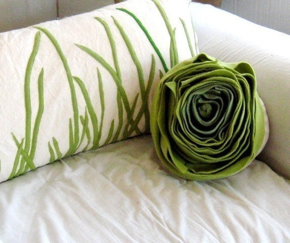 tall grass pillow