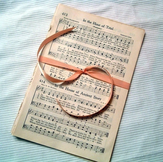 Vintage Hymnal Sheet Music 30 pages Ephemera