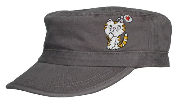 love Cat Thinking Cap