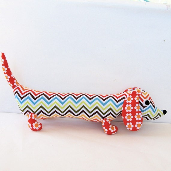Ziggy the Wiener Dog Plush Dachshund