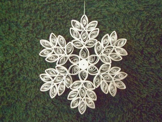 2010 Quilled Snowflake