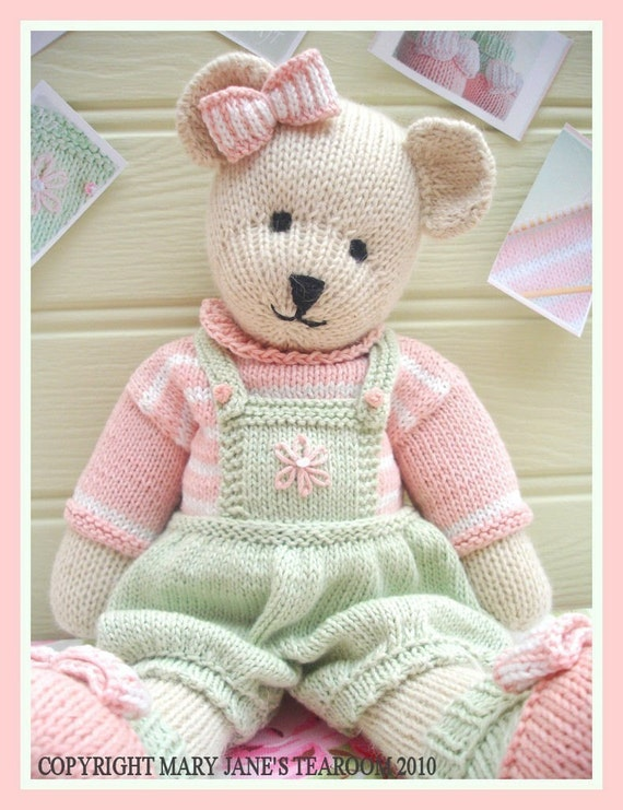 Knitting Pattern For Teddy Bear Baby Blanket : TEDDY KNITTING PATTERNS   Browse Patterns