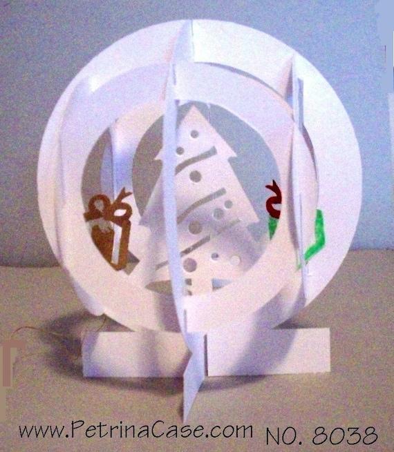 Christmas Tree Pop-Up slice Globe Item NO.8038