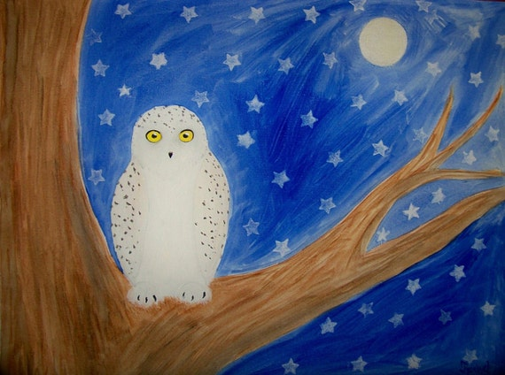 GUARDIAN OWL - Fine Art Print - 8x10 (also available in 16x20)