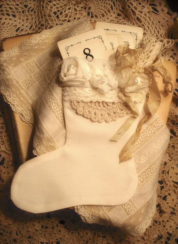 Petit Vintage Результаты Муслин чулок Рождество