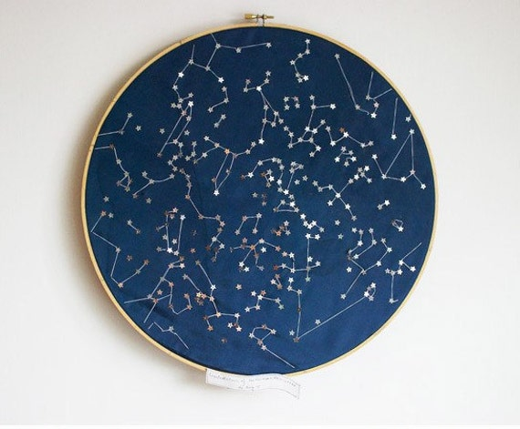 Constellations of the Northern Hemisphere Wall hanging