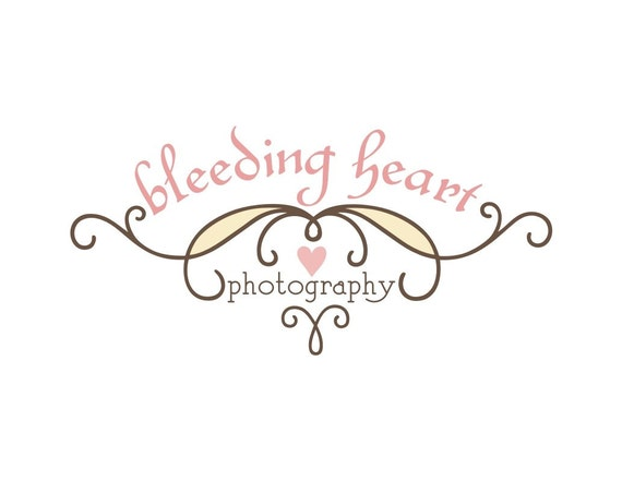 SALE Custom Logo Design Premade for Small Businesses, Photographers, Boutiques and Etsy Shops - Branding - Never Relisted