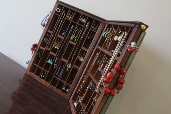 Printers Drawer Jewelry Holder