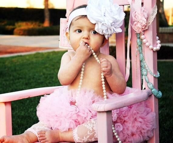 Довольно в розовых розетки оголовья Летний Cozette Couture