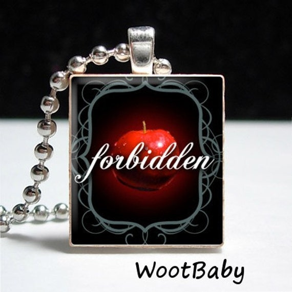 Twilight Forbidden Scrabble Tile Pendant Buy 2 Get 1 Free
