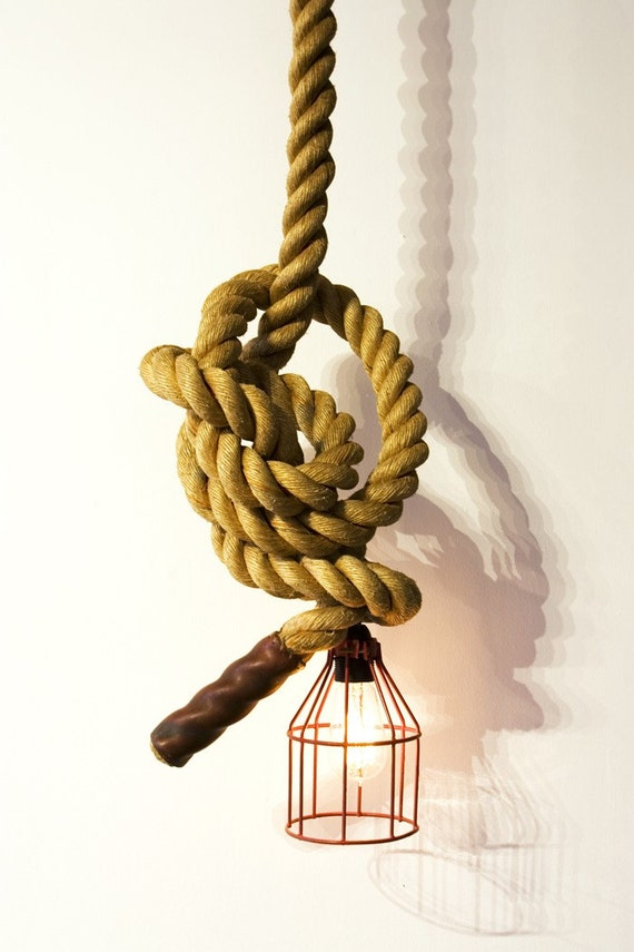 Unique climbing rope light