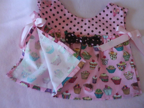 Tea Time Baby Pop Over Top and Bloomers size 6m