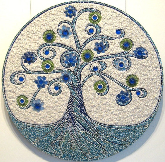 TREE OF LIFE mosaic art