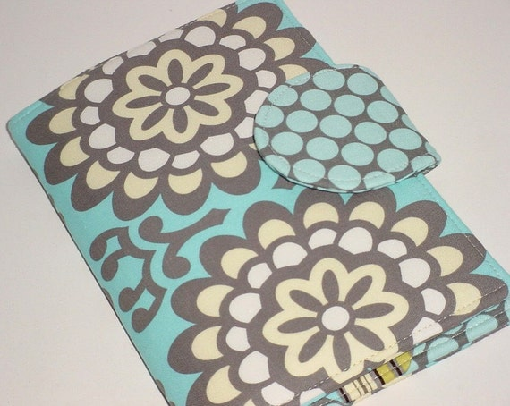 Kindle Covers, Nook Covers - Blue Wallflower eReader Book Cover