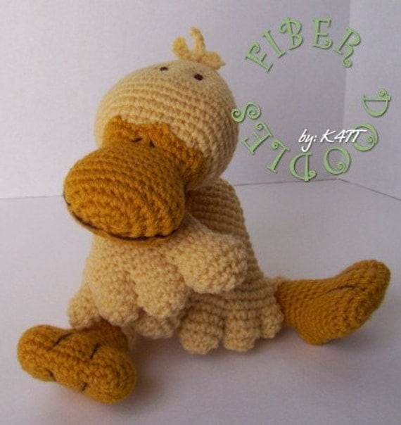 CROCHET PATTERN - KISS Series - Duckling
