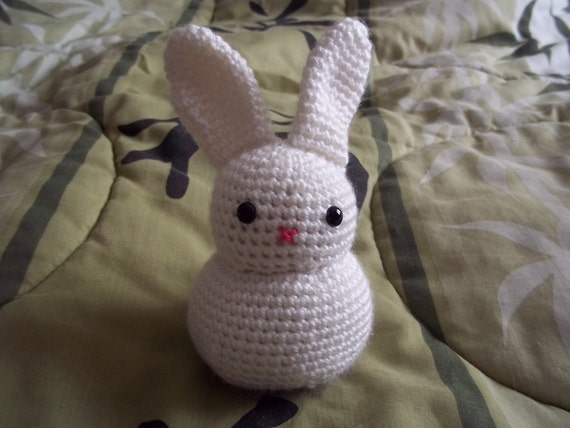 Snowball Rabbit PDF Crochet Pattern