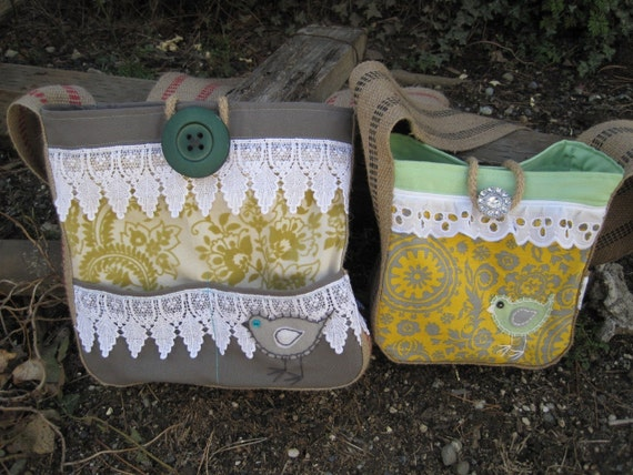 Little Lainy Hip Bag Mini for little girls in yellow, mint, & lace