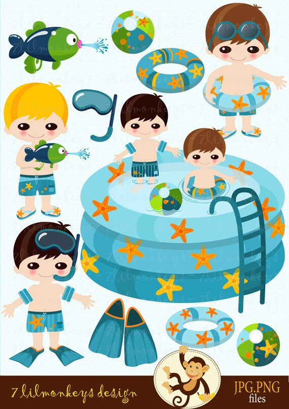Pool Party Images Clip Art Clip Art Pool Party Clipart