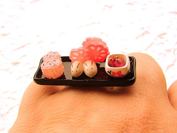 Traditional Japanese Food  Ring