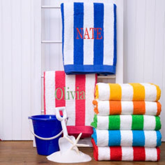 Beach Towels Personalized