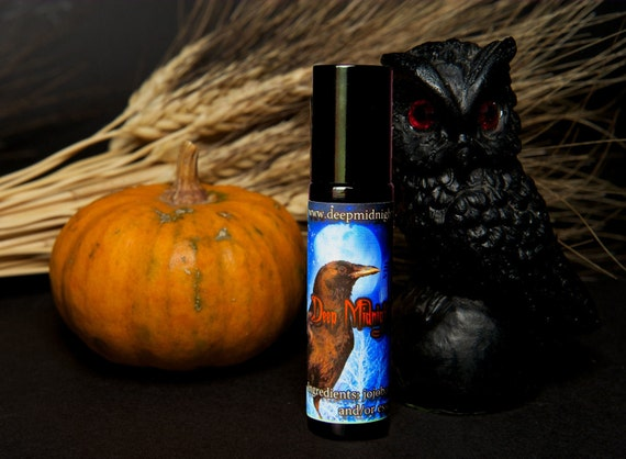 SAMHAIN NIGHT: Perfume Oil Gothic Victorian Halloween