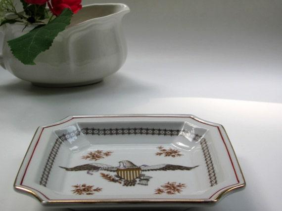 Vintage Patriotic Plate