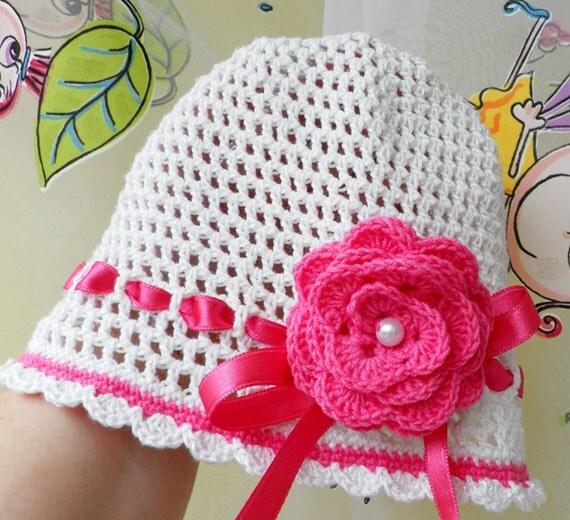 فروش تابستان -- در حال حاضر فقط 18 دلار -- Crocheted ، کلاه تابستان با گل های زیبا