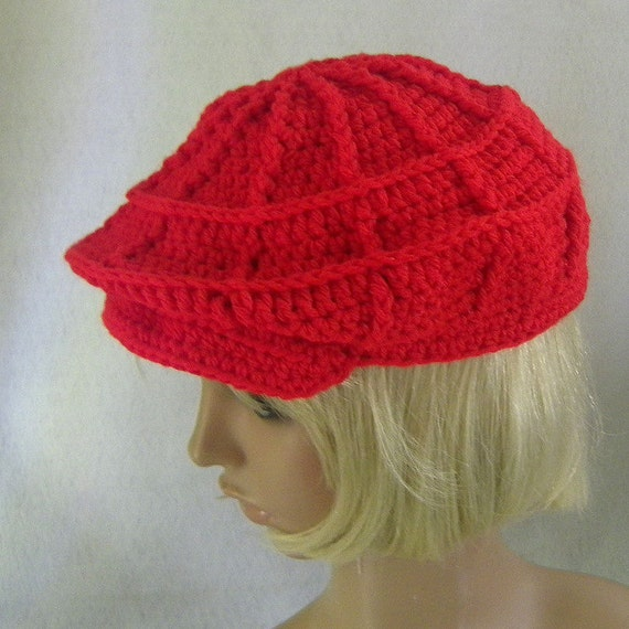 CROCHET NEWSBOY CAP PATTERN   Crochet For Beginners