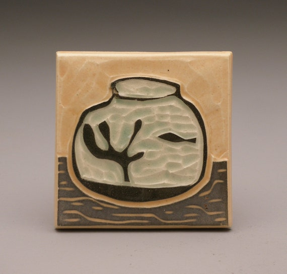 Fishbowl- 3x3 tile- Ruchika Madan
