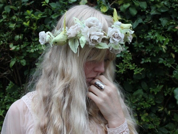 Flower and Bird crown