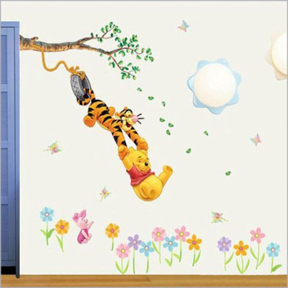 SALE 50% Off - PEEL and STICK Kids Nursery Removable Vinyl Wall Sticker ...