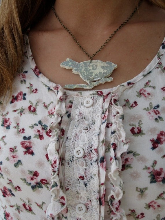 The Perched Bird Necklace