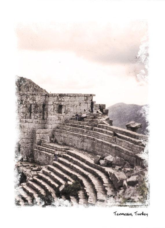 Турция Коллекция № 4 - Турция стока - художественной фотографией - Стена Декор-Театр - Археология - Средиземное море Фото
