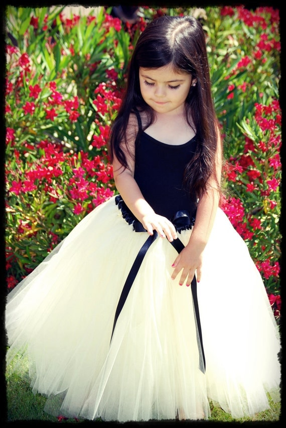 Precious Flower Girl tutu dress.  You choose the color.