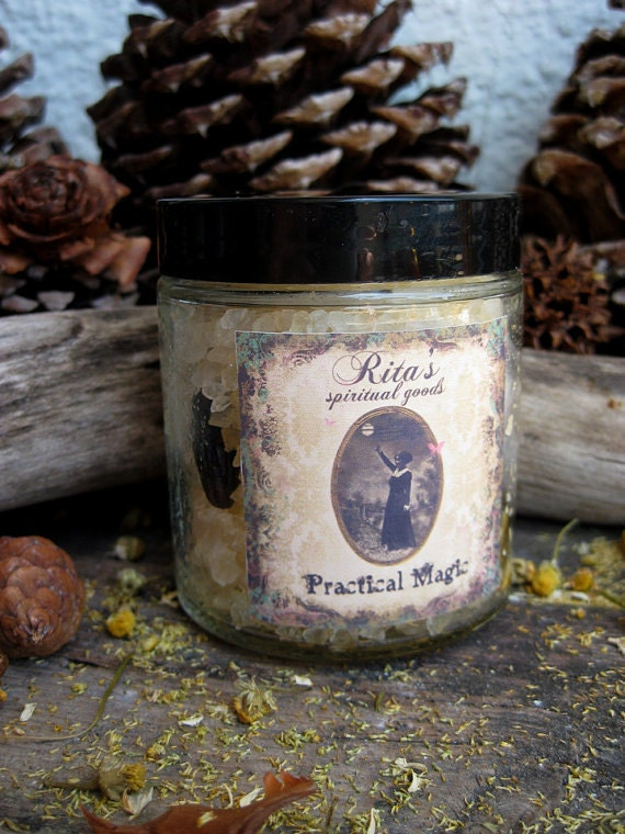 Rita's Practical Magic Ritual Bath Dead Sea Salts - Empowerment, Insight, Creativity, Love, Magic