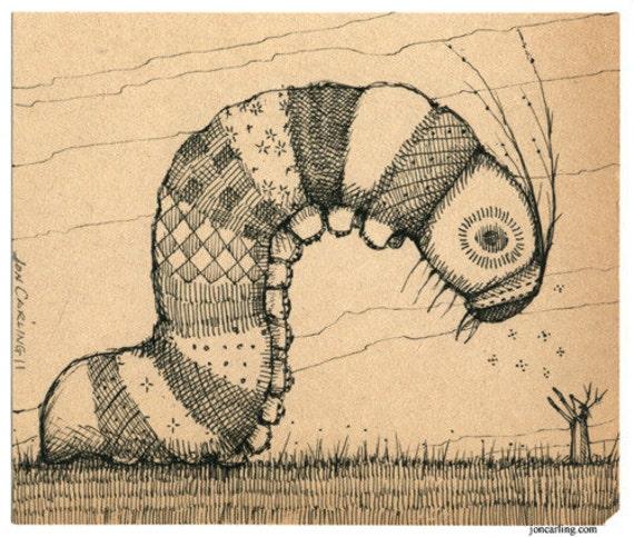 Hypnotized Caterpillar