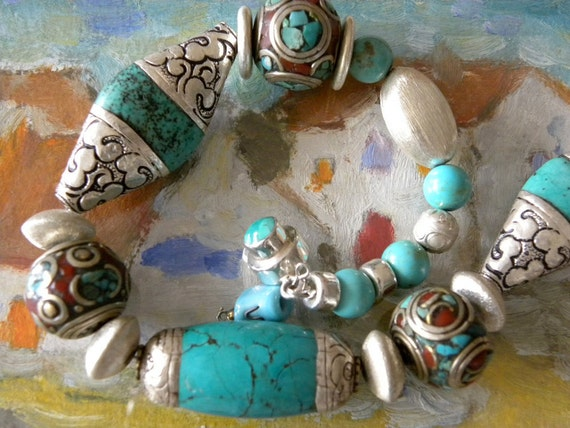 Portobello Road Turquoise Necklace